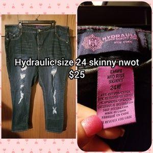 Hydraulic skinny